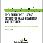 OSINT for Fraud