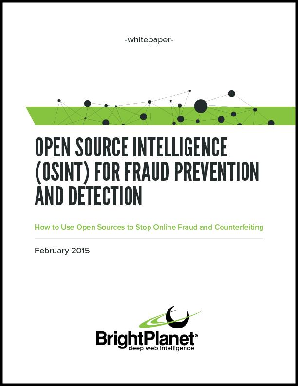 OSINT for Fraud