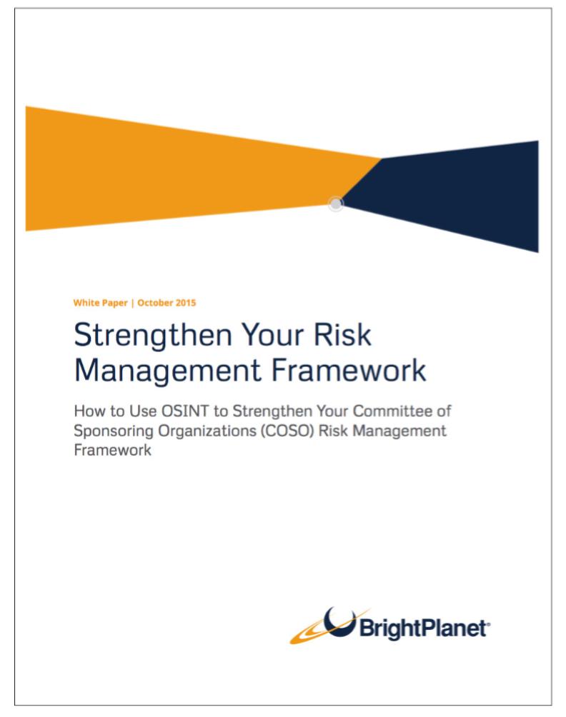 Risk Management | BrightPlanet